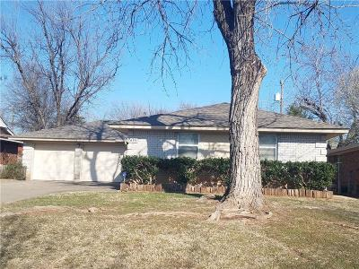 Del City Single Family Home For Sale: 508 Leslie Drive