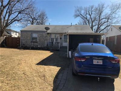 Midwest City Single Family Home For Sale: 224 E Myrtle Lane