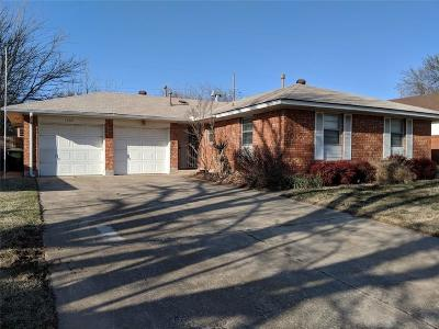 Midwest City Single Family Home For Sale: 1105 W Peebly