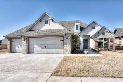 Canadian County, Oklahoma County Single Family Home For Sale: 18725 Trailview Way