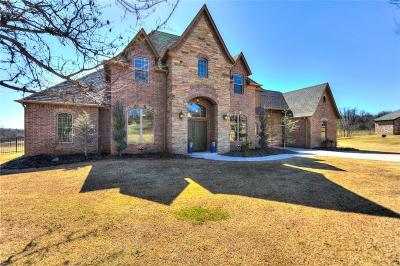 Edmond Single Family Home For Sale: 5516 Chateau Lane