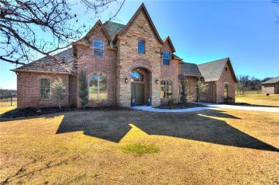 Edmond Single Family Home For Sale: 5516 Chateau Lane
