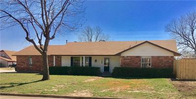 Moore OK Single Family Home Sale Pending: $139,950