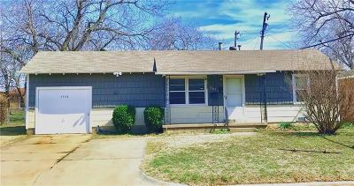 Midwest City Single Family Home For Sale: 3908 Woodside