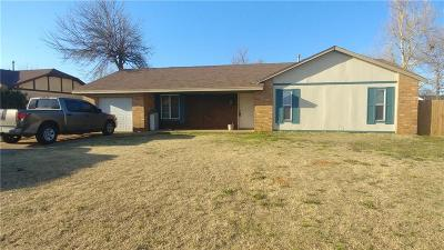 Mustang Single Family Home For Sale: 243 W Maple Branch Way