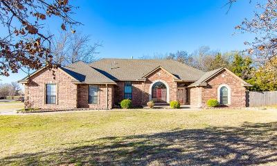 Blanchard Single Family Home For Sale: 882 Oakley Drive