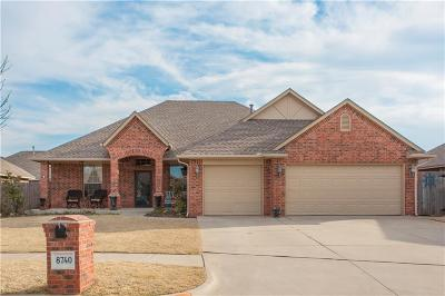 Oklahoma City Single Family Home For Sale: 8740 NW 114th Street