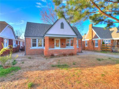 Oklahoma City OK Single Family Home Sale Pending: $175,000
