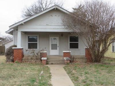 Single Family Home For Sale: 1620 S 17th Street