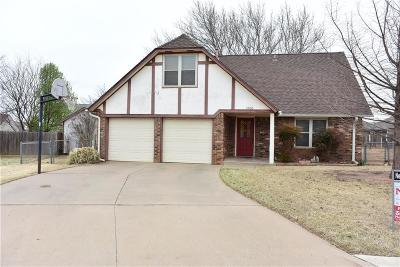 Edmond Single Family Home For Sale: 1801 Fox Hunt Lane
