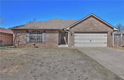 Yukon Single Family Home For Sale: 12501 Ridgegate Road
