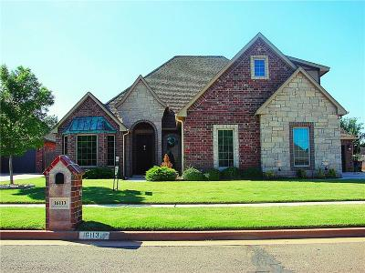 Edmond Single Family Home For Sale: 16113 Pointe Manor Lane