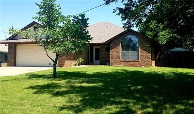 Stroud OK Single Family Home For Sale: $118,000