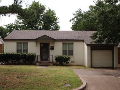 Oklahoma City Single Family Home For Sale: 2512 NW 33rd Street