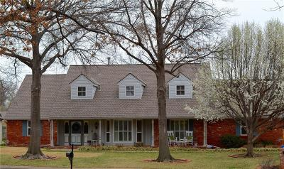 Oklahoma City Single Family Home For Sale: 3100 Red Oak Road