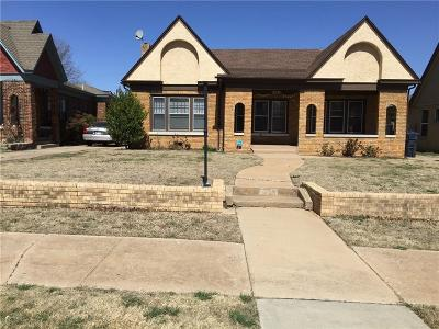 Oklahoma City Single Family Home For Sale: 2051 NW 22nd Street