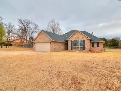 Choctaw Single Family Home For Sale: 5400 Hart Lane