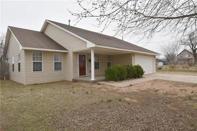 Guthrie Single Family Home For Sale: 108 N 16th Street