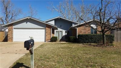 Oklahoma City Single Family Home For Sale: 9200 Raven Avenue