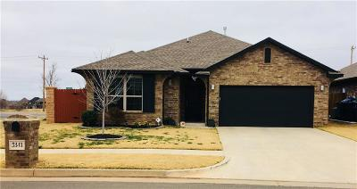 Edmond Single Family Home For Sale: 3341 NW 164th Terrace