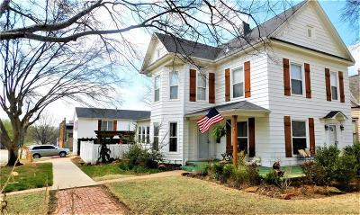Guthrie Single Family Home For Sale: 623 E Cleveland