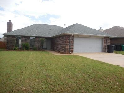 Canadian County, Oklahoma County Single Family Home For Sale: 8100 Wood Duck Drive