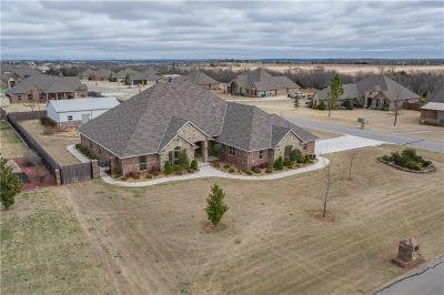 Tuttle Single Family Home For Sale: 4609 Timber Ridge Road