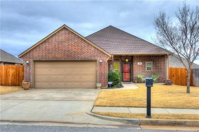 Edmond Single Family Home For Sale: 3908 Wickersham Drive