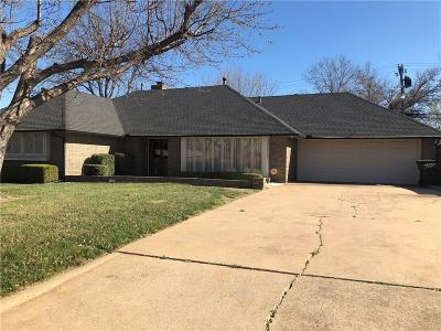 Oklahoma City Single Family Home For Sale: 3504 NW 43rd Street