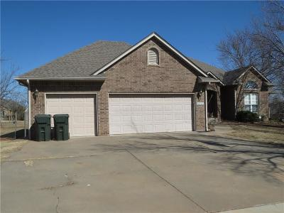 Edmond OK Single Family Home For Sale: $201,500