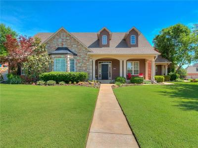 Choctaw Single Family Home For Sale: 12806 Glen Aerie Road