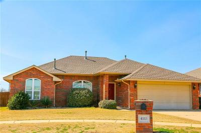 Moore Single Family Home For Sale: 4113 Green Apple Drive
