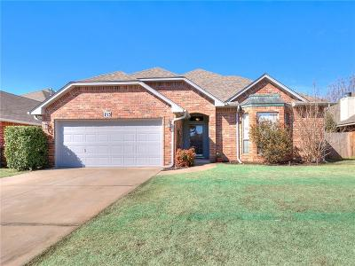 Moore OK Single Family Home For Sale: $217,500