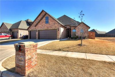 Edmond Single Family Home For Sale: 3108 NW 184th Terrace