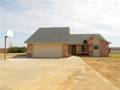 Chickasha Single Family Home For Sale: 2479 County Street 2807
