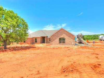 Harrah Single Family Home For Sale: 9633 N Harrah Road