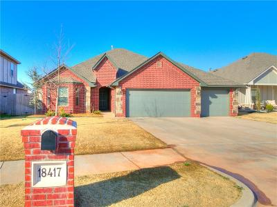 Edmond Single Family Home For Sale: 18417 Haslemere Ln.