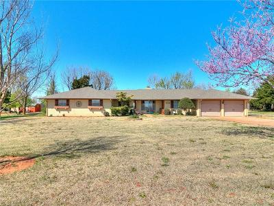 Yukon Single Family Home For Sale: 2717 S Cemetery Road