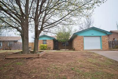Chickasha Single Family Home For Sale: 3001 W Montana