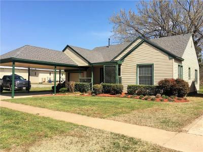 Crescent OK Single Family Home For Sale: $79,000