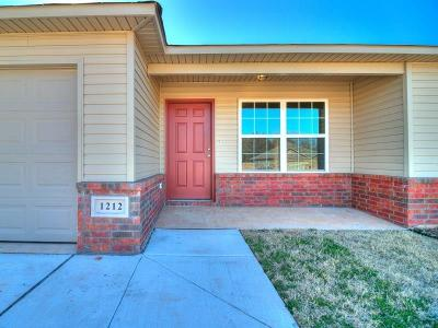 Midwest City Single Family Home For Sale: 10853 NE 8th Terrace