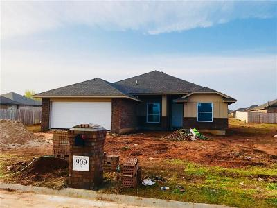 Chickasha Single Family Home For Sale: 909 Brookhollow