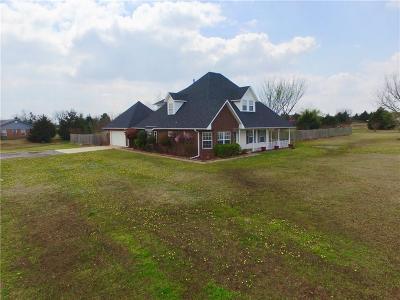 McLoud Single Family Home For Sale: 302 Teri Lane
