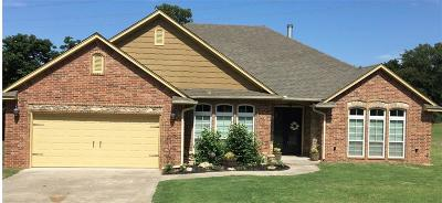 Choctaw Single Family Home For Sale: 272 N Triple X Road