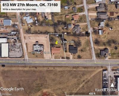 Moore Commercial For Sale: 613 NW 27th Street