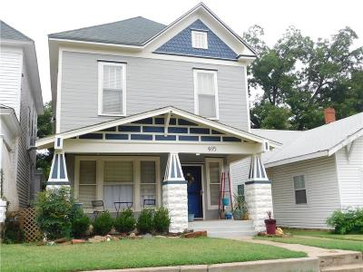 Guthrie Single Family Home For Sale: 405 N Broad