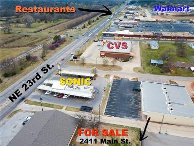 Choctaw Commercial For Sale: 2411 Main Street