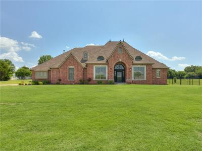 Harrah Single Family Home For Sale: 2396 Redbud Creek Drive