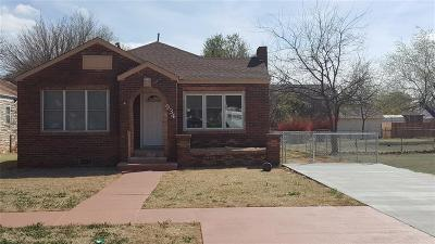 Altus OK Single Family Home For Sale: $89,500