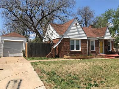 Oklahoma City OK Single Family Home For Sale: $100,000